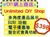 Unlimited DIY Shop & Website